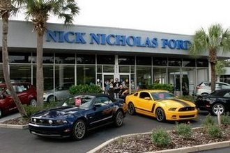 Nature Coast Mustangs Annual Show at Nick Nicholas Ford