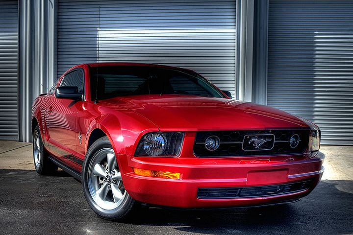 2008 Mustang V6 Premium Pony Package With Ford Racing