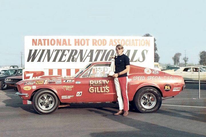 Rusty Gillis Ss Fa Class Winner 1971 Winternationals
